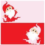 Santas little helper. Little santa or little elf that works for santa claus Stock Image
