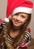 Santa`s little helper Stock Image
