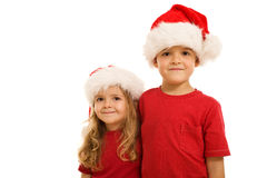 Santa's little helpers Stock Image