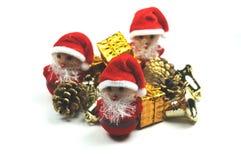 Santa's little helpers Stock Image