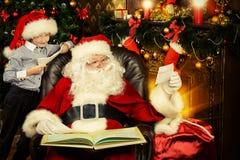 Santa's mail Stock Image