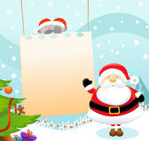 Santa's Message Royalty Free Stock Photography
