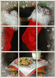 Santa's Milk and Cookies Stock Photography