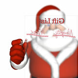 Santa's Naughty and Nice List Royalty Free Stock Image