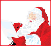 Santa's Naughty & Nice List Royalty Free Stock Photos