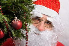 Santa's portrait Royalty Free Stock Image
