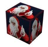 Santa's present Royalty Free Stock Photo