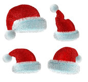 Santa's red hat Royalty Free Stock Image