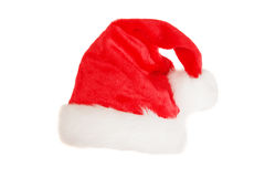 Santa's red hat Stock Photo