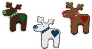 Santas reindeer handmade. Stock Photo