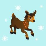 Santa's reindeer Royalty Free Stock Photo