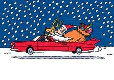 Santa's ride Royalty Free Stock Photos