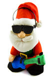 Santa's rock and roll Royalty Free Stock Photo