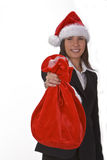 Santa's sack Royalty Free Stock Photos
