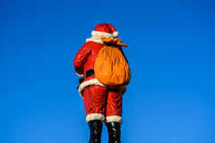 Santa`s Sack Royalty Free Stock Photography