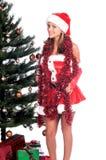 Santa's Sexy Helper Stock Image