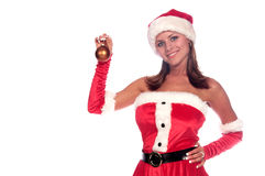 Santa's Sexy Helper Royalty Free Stock Photography