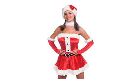 Santa's Sexy Helper Royalty Free Stock Image
