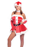 Santa's Sexy Helper Royalty Free Stock Photos
