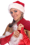 Santa's Sexy Helper Stock Photo
