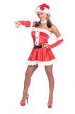 Santa's Sexy Helper Stock Images