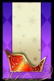Santa's sleigh Royalty Free Stock Photo
