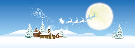 Santa's Sleigh. Stock Photos