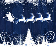 Santa's sleigh. Royalty Free Stock Images