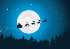 Santa's Sleigh Stock Photos