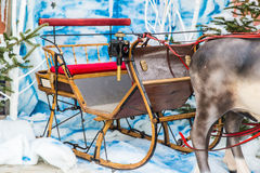 Santa's sleigh Stock Image