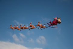 Santa's Sleigh Stock Photo