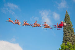 Santa's Sleigh Royalty Free Stock Image
