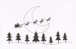Santa's sleigh Royalty Free Stock Photos