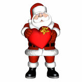 Santa's Valentine 2 Royalty Free Stock Images