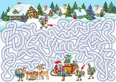 Santa`s Village Stock Photos