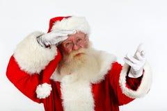 Santa's vision Royalty Free Stock Images