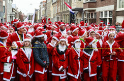 Santa's waiting Royalty Free Stock Images