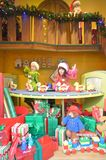 Santa's Workroom Stock Image