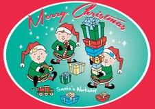 Santa's Workshop. Royalty Free Stock Photos