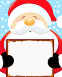 Santa's Xmas Message Royalty Free Stock Photography