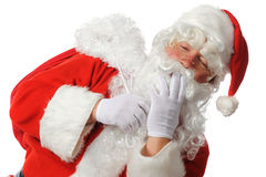 Santa's Yawn Stock Photography