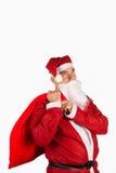 Santa with sack Stock Photography