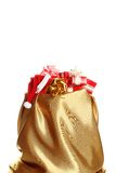 Santa sack with gifts Stock Photo