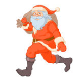 Santa with the sack of gifts Stock Photography