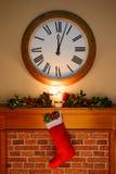 Santa saiu de alguns presentes Imagem de Stock Royalty Free