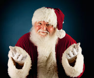 Santa: Santa With Hands Out Imagem de Stock