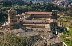 Santa Scolastica monastery of Subiaco Stock Photos