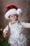Santa se viste para arriba Imagen de archivo libre de regalías