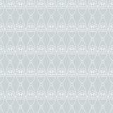 Santa seamless gray. Royalty Free Stock Photos