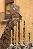Santa Semana, Granada, Hiszpania Fotografia Royalty Free